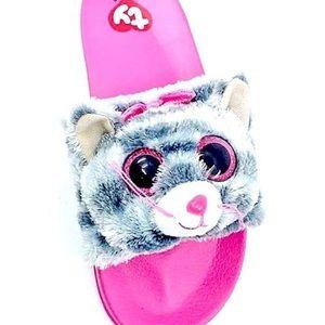 Other - Kiki the cat beanie babie slides size 4/5
